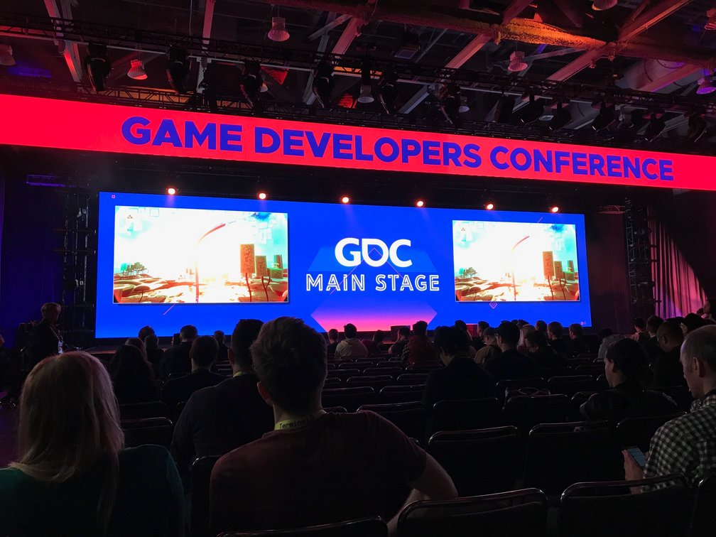 GDC main stage